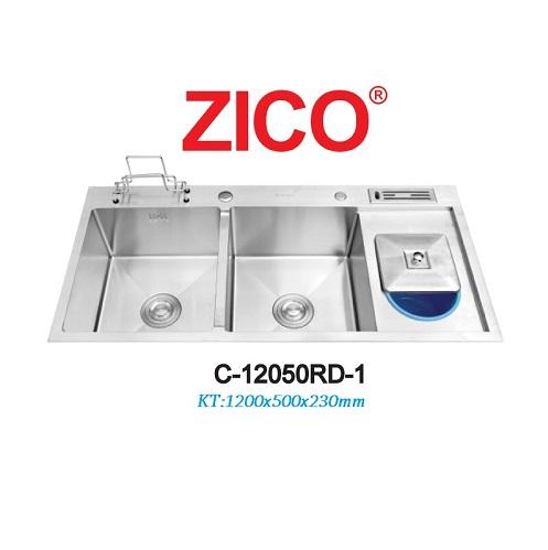 CHẬU RỬA CHÉN INOX ZICO C-12050RD-1