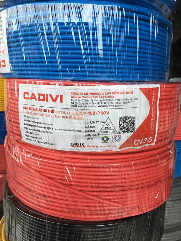 CADIVI CV2.5