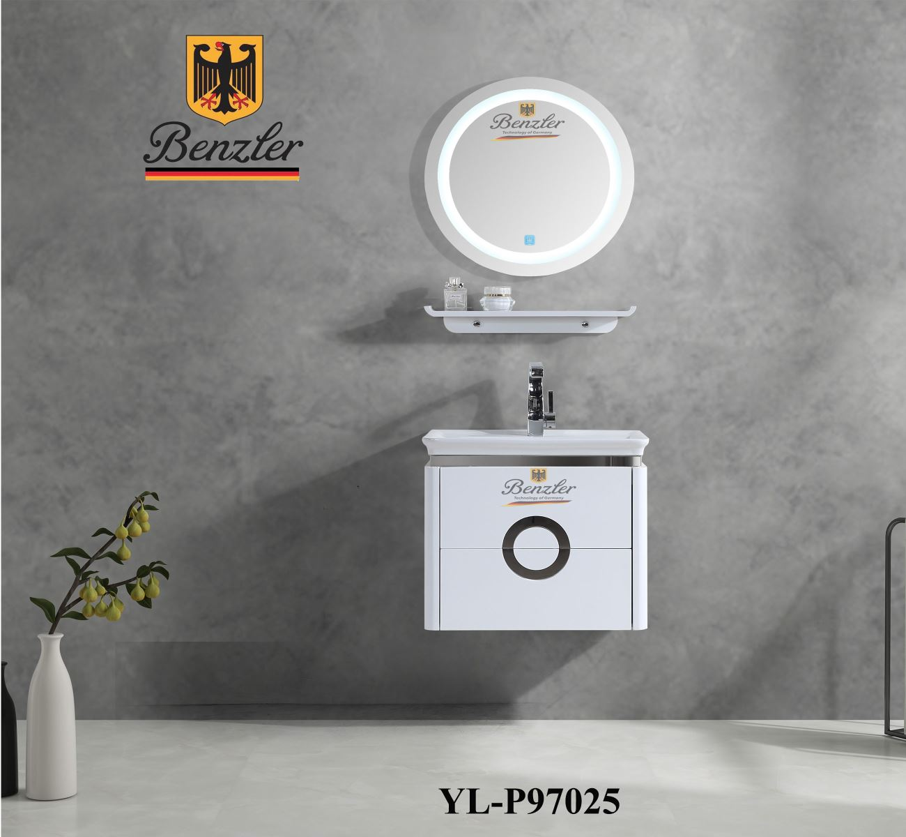 BỘ TỦ LAVABO BENZLER YL-P97025