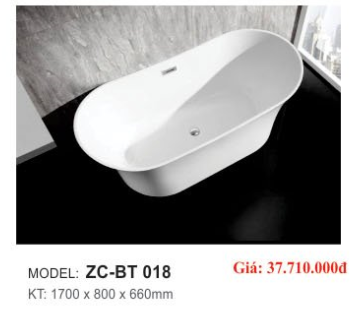 Bồn tắm CAO CẤP ZICO ZC-BT 018