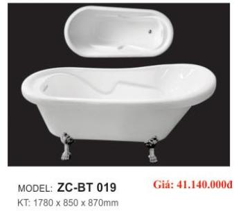 Bồn tắm CAO CẤP ZICO ZC-BT 019