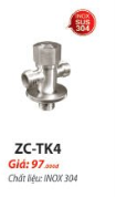 T CẦU SUS 304 ZICO ZC-TK4