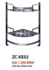 KỆ GÓC CAO CẤP 2 TẦNG ZICO ZC-KE02