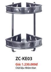 KỆ GÓC CAO CẤP 2 TẦNG ZICO ZC-KE03