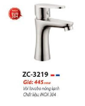 VÒI LAVABO NÓNG LẠNH ZICO ZC-3219 ( SUS 304)